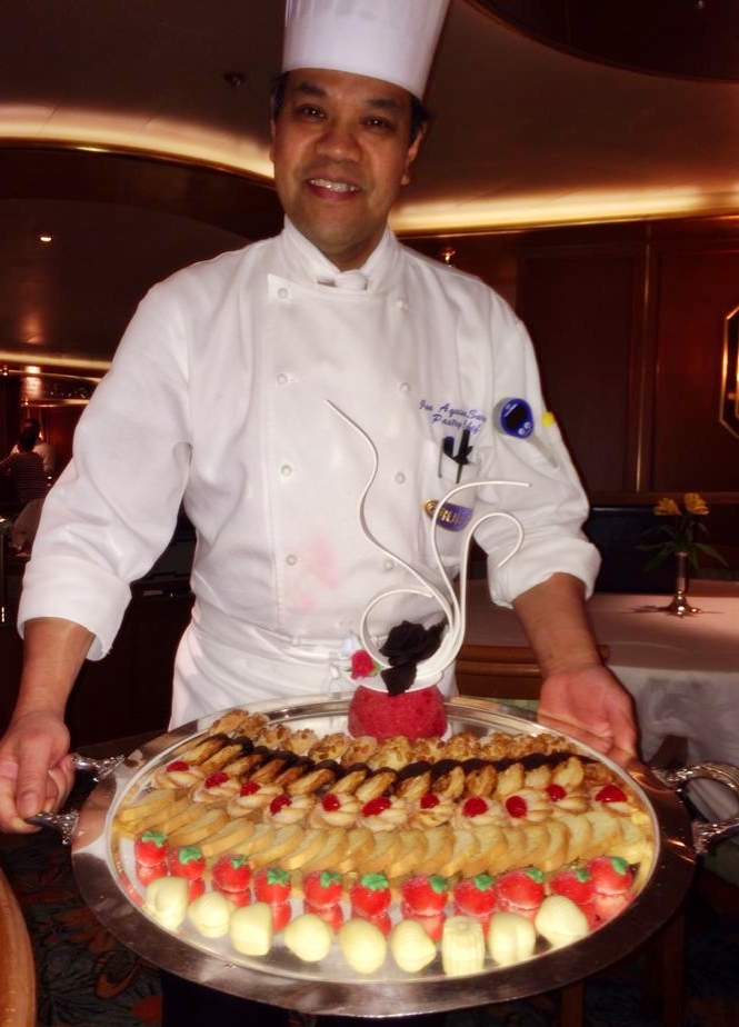 Caribbean Princess Chef's Table - cookies