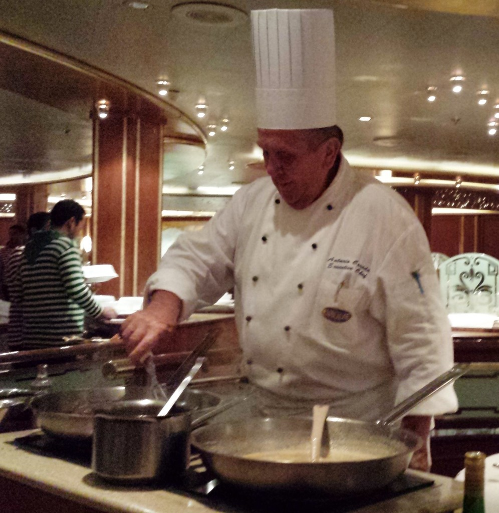 Chef's Table Caribbean Princess