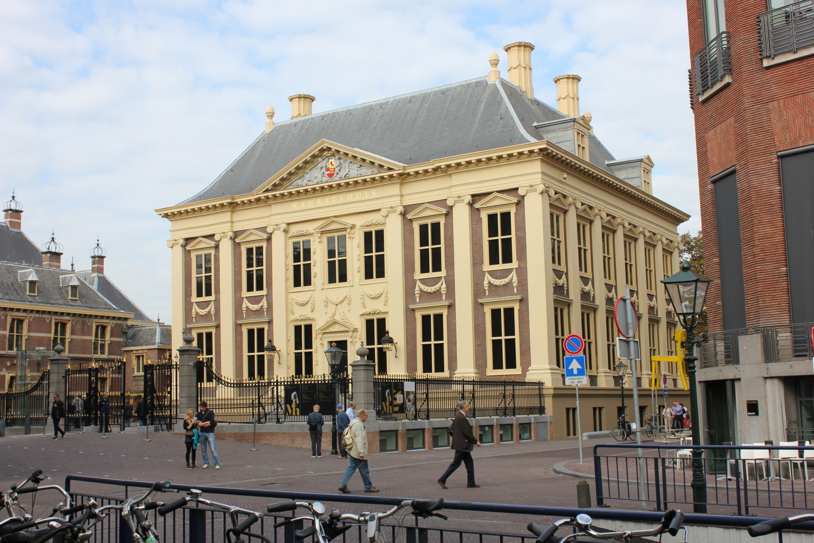 The newly renovated Mauritshuis