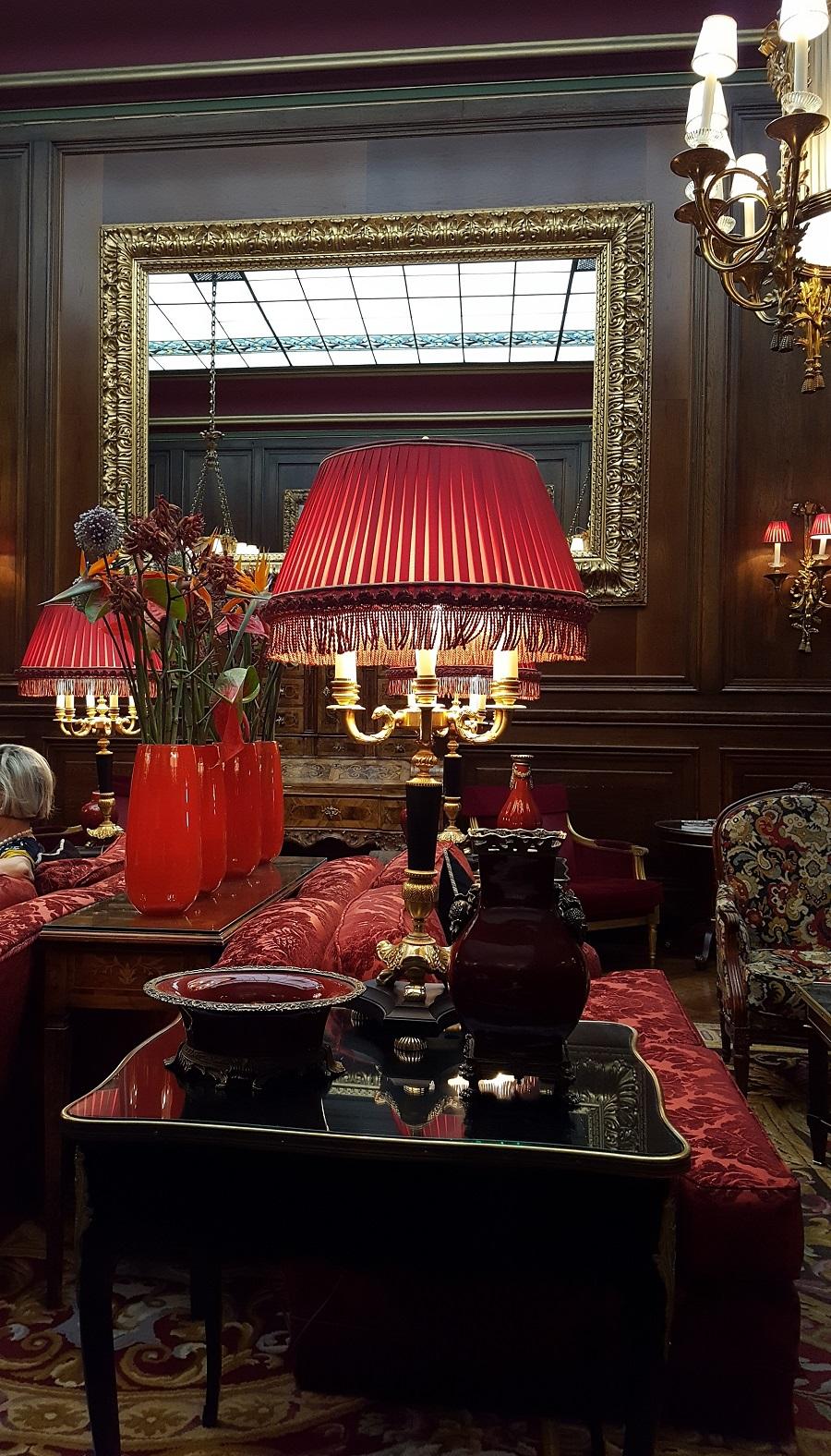 Hotel Sacher Vienna, Lobby